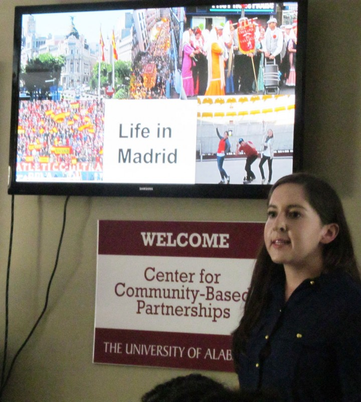 """Fulbright scholar Carolyn Bero describes her role as a """"cultural ambassador"""" during her assignment in Madrid, Spain."""