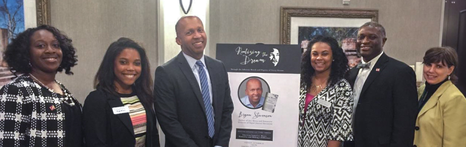 Attorney and author Bryan Stevenson delivered the 2015-2016 Realizing the Dream Distinguished Lecture.