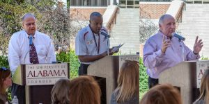 Co-Chairs Bill Elrod, Antoine Bell, and Bob Prescott of the College of Continuing Studies outline this year's plans.