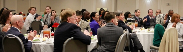 A large number of BOA members and guests gathered for the fall banquet on September 11.