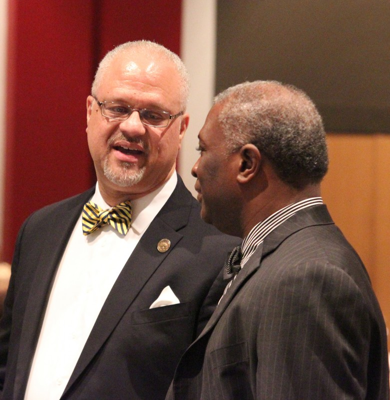 Dr. Joseph F. Scrivner and Dr. Samory T. Pruitt at the Legacy Banquet.