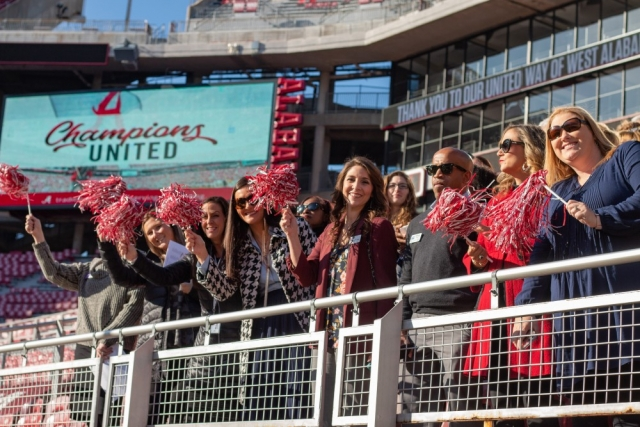 UA and United Way administrators, United Way partner agency representatives and campus coordinators gathered for the celebratory conclusion of the 2018 UA United Way campaign.
