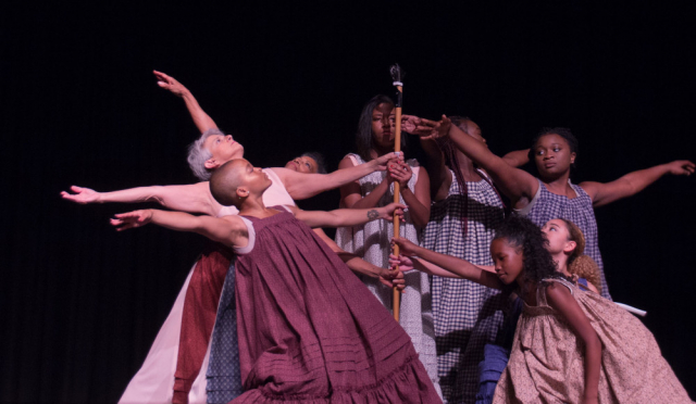 Dancers share the legacy of Mary Ann Shadd Cary through dance, poetry and music.