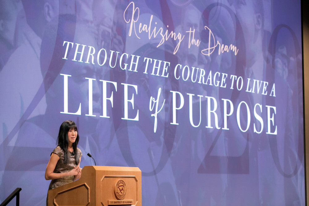 "Legacy Banquet featured speaker Laura Ling shares her story of ""Holding onto Hope."""